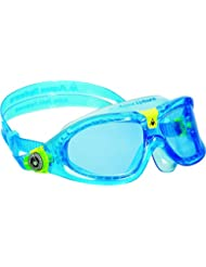 Aqua Sphere Seal Kid Swim Goggle, Blue Lens / Aqua