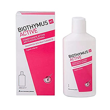 Biothymus Active shampoo ristrutturante donna 200ml  Amazon.it  Bellezza 03abf497b5b5