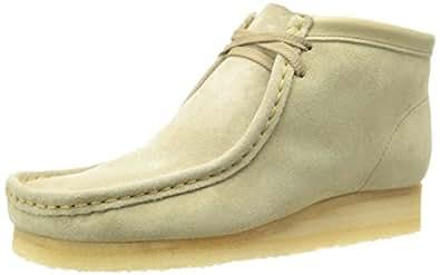 CLARKS Originals Women's Wallabee Boot,Sand,10.5 M