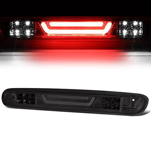 - For 07-13 Chevy Silverado/GMC Sierra 3D LED Bar 3rd Third Tail Brake Light Rear Cargo Lamp (Chrome/Smoked)