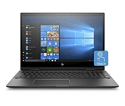 HP Envy X360 15-Inch Convertible Laptop, AMD Ryzen 5 2500U, 8GB RAM, 256GB Solid-State Drive, Windows 10 (15-cp0010nr, Silver)
