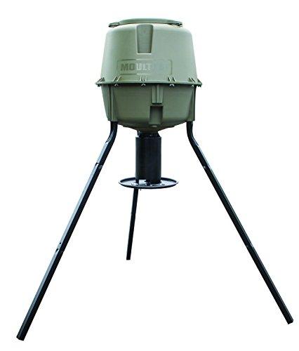 moultrie 30 gallon dinner plate tripod game deer feeder mfg 12719 gosale price comparison. Black Bedroom Furniture Sets. Home Design Ideas