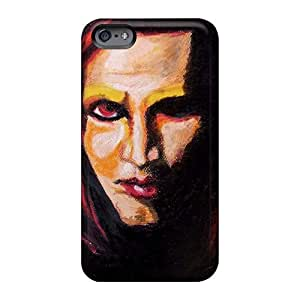 Iphone 6 YqV1767QIrP Provide Private Custom High-definition Marilyn Manson Band Pictures Shockproof Hard Cell-phone Case -CharlesPoirier