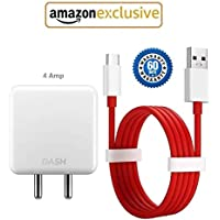Epaqt™ Dash Charger 4Amp Power Adapter with Type-C USB Dash Fast Charging & Data Sync USB Cable (100% Dash Charging Supported) for One Plus 3/1+3T/ 1+5/1+5T/ 1+6/1+6T