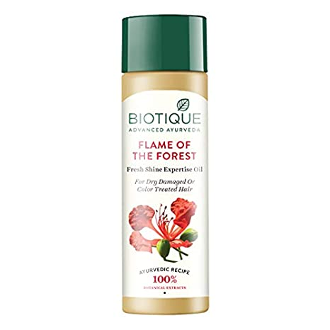 Картинки по запросу Biotique Bio Flame Of The Forest Fresh Shine Expertise Oil