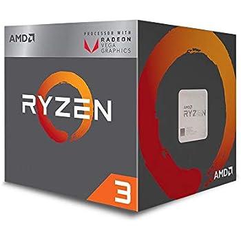 AMD Ryzen 3 2200G Processor with Radeon Vega 8 Graphics - YD2200C5FBBOX