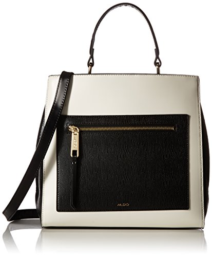 Aldo Gareni Top Handle Handbag   White