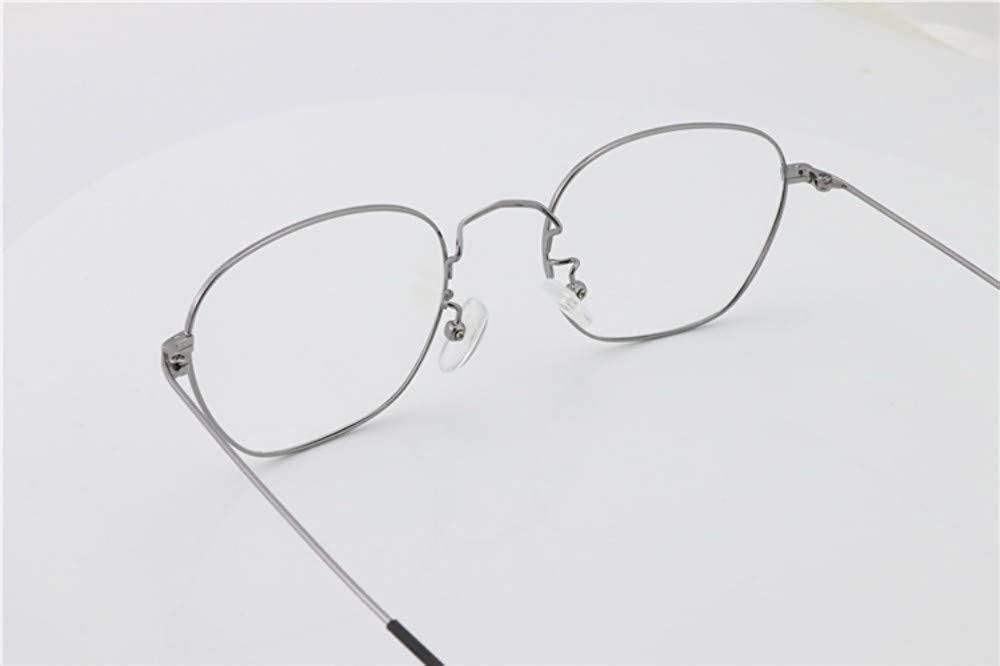 Ultralight retro///flat mirror anti-blue goggles silver black