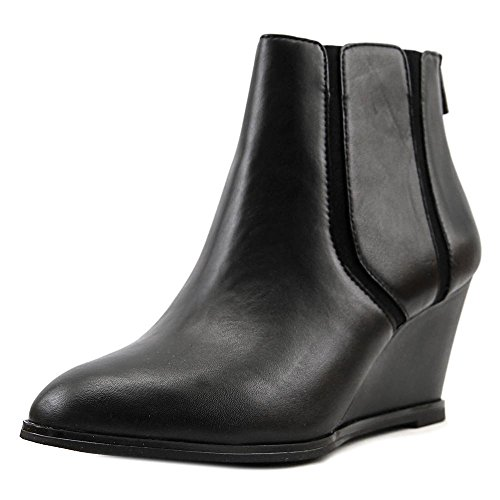 Leather Closed Toe Alfani Womens Leather Boots Ankle Fashion Black Calistah qaRSzZxt