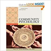 community psychology linking individuals and communities free pdf