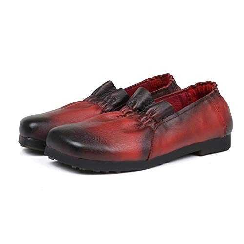 Rouge Chaussures Jaune 38 EU coloré Taille ZHRUI 6HRw7R