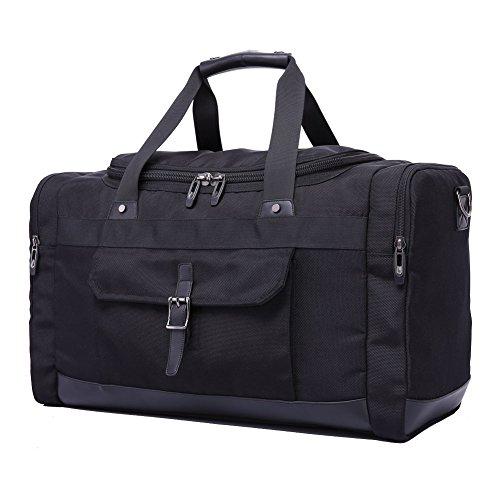 Domila Travel Duffel Bag 21'' Large Unisex Weekender Bag Tsa Friendly Carry-on Luggage Tote Overnigh
