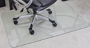 Amazon Com Myglassmat 36 X 48 Inch Tempered Glass Chair