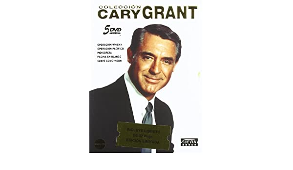 Pack: Cary Grant (5 Películas) [DVD]: Amazon.es: Cary Grant, Leslie Caron, Tony Curtis, Ingrid Bergman, Robert Mitchum, Deborah Kerr, Doris Day, ...