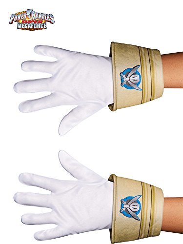 Disguise Saban Super MegaForce Power Rangers Special Ranger Child Gloves, One Size Child]()