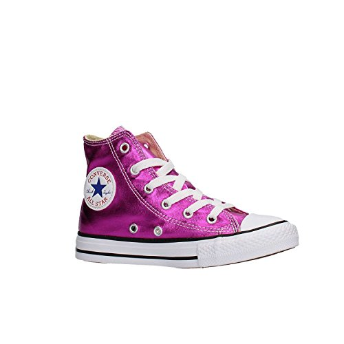 Laminato Mid Converse CTAS Hi MOD Sneakers Junior Vernice 355556C Lampone Girl qS1YHwOnf1