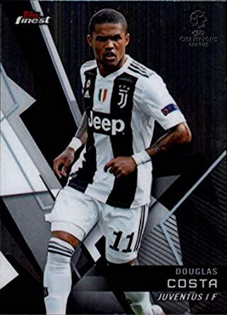 b9afd3286 2018-19 Finest UEFA Champions League  85 Douglas Costa Juventus Soccer  Trading Card