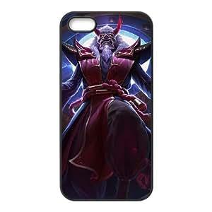 iPhone 5 5s Cell Phone Case Black League of Legends Blood Moon Zilean KWI8895095KSL