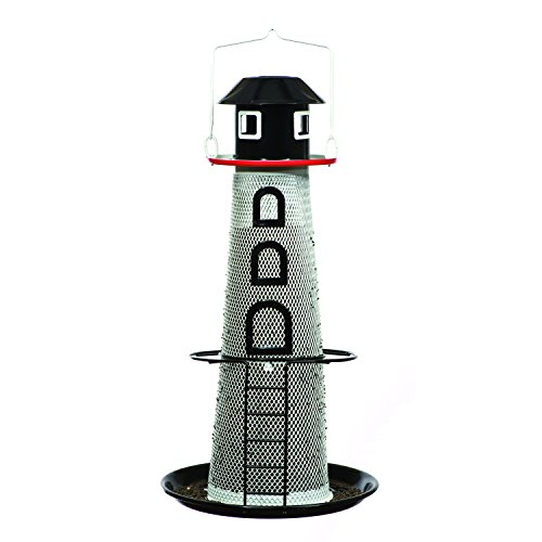 (Perky-Pet LH00355 Solar Lighthouse Finch Bird Feeder)