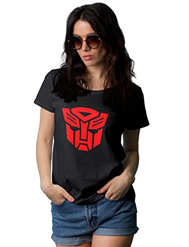 Black Auto Graphic Tees for Womens | Red Auto, XL]()
