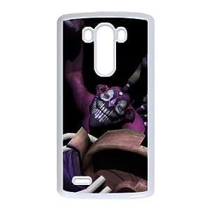 LG G3 White phone case Dazzle Dota 2 DOT7102851