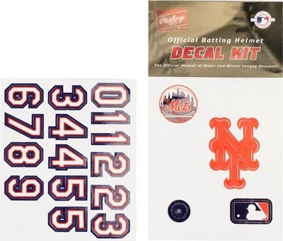MLB Batting Helmet Decal Kit from Rawlings MLBDK