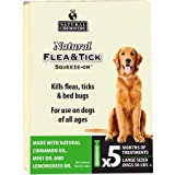Natural Chemistry Natural Flea Tick SqueezeOn for Dogs Over 50 lbs (5 Months)
