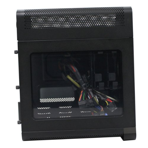EVGA Hadron Hydro Mini-ITX Steel Black Chassis with 500W 80Plus Gold Power Supply 110-MW-1002-K1 by EVGA (Image #4)