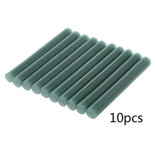 Shaoge 10Pcs 11100mm Clear Colorful Hot Melt Glue Sticks Vintage Sealing Wax Envelope Invitation Stamp Security Packaging Repair Tool