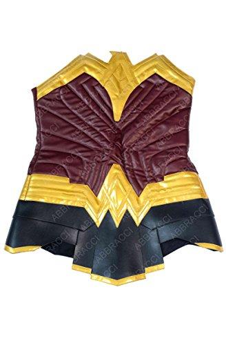 Wonder Jacket for Woman Diana Prince Corset Gal Gadot Leather Vest Costume (XXXL, (Baywatch Costume Female)