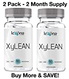 XyLEAN #1 Rated Diet Pills for Men & Women w/FDA Approved Phase 2 Carb Controller Appetite Suppressant | Weight Loss Aid | Reduce Water Retention, Burn Fat, Increase Energy | 2 Pack