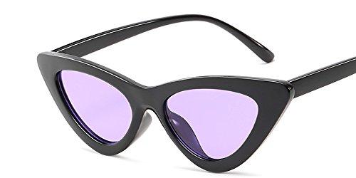 Diseño Gafas Gato Mal Gafas Mujer Sol De Hembra Sexy Black Gafas Ojo De De Vintage Matices Gafas De Amarillo Blanco Sol C10 Uv Purple C7 TIANLIANG04 Pq8Y6w