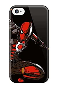 Hot Snap-on Deadpool Hard Cover Case/ Protective Case For Iphone 4/4s