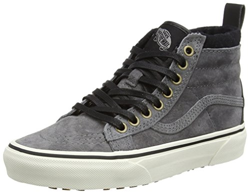 Adulte Vans pewter Mixte Sk8 Sneakers Mte Hautes Grey hi wool U rrqzw07