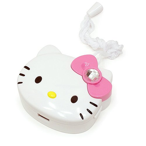 Hello Kitty (Q-01) Portable Mini Fan for travel Operated for Cooling (Pink) (Fan Hello Kitty)