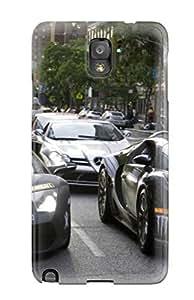 Hot Tpu Cover Case For Galaxy/ Note 3 Case Cover Skin - Lamborghini Murcielago038 Bentley Continental