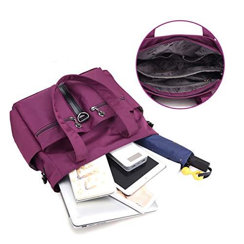 a ad Nylon Go Travel Cloth il borsa stoffa A Borsa Out tempo Mummy capacità Lady tracolla di Dongyuer Nuova Per alta libero Borse e 1q0a0z