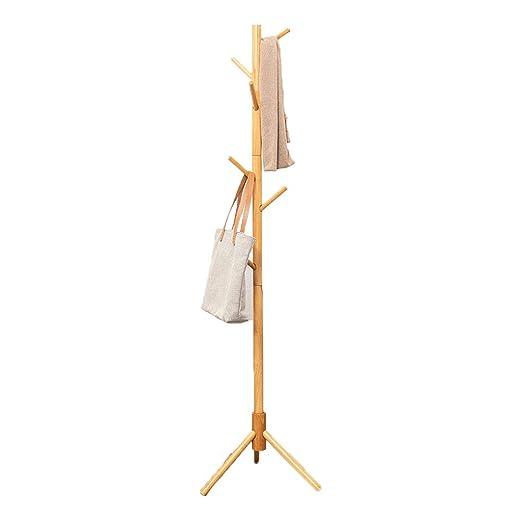 LTJTVFXQ-coat rack Perchero de Madera Dormitorio Creativo ...
