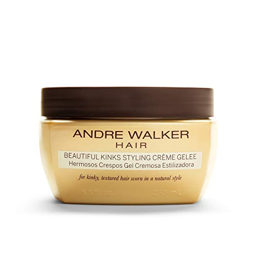 Andre Walker Hair - Beautiful Kinks Styling Crème Gelee, 8.5 Fl Oz (Best Hair Products For 4b Hair)