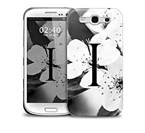 letter i Samsung Galaxy S3 GS3 protective phone case