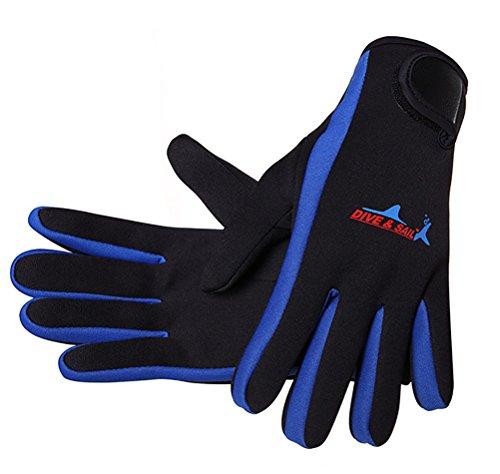 DIVE & SAIL Women Men Adult 1.5mm Diving Glove Snorkelling Glove Surfing Kayaking 001