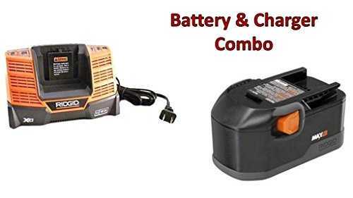 Ridgid 18 volt Battery and Charger combo pack.