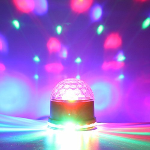 Disco Ball Light Glisteny Dj Disco Party Lights 7 Color