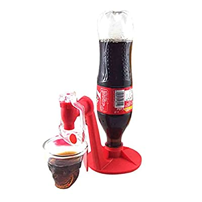 Faber3 Hot Sale Soda Dispenser Bottle Coke Upside Down Drinking Water Dispense Machine Home Bar Party Gadget Fizz Saver Refrigerator 2-Liter Soft Drink Dispenser: Toys & Games