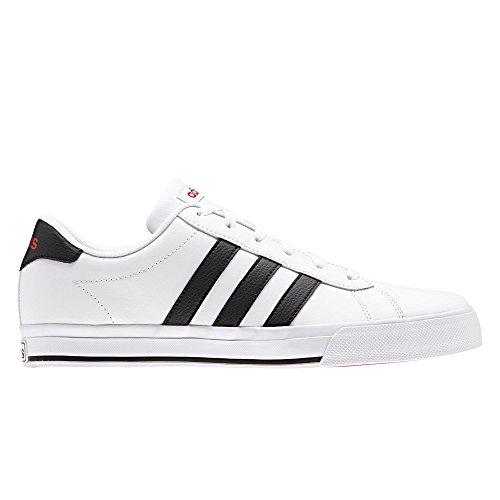 adidas Daily, Zapatillas de Deporte para Hombre Blanco