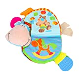 Winkey Toy for Baby Boys Girls, Soft Cloth Baby Intelligence Development Learn Picture Cognize Book,Educational Toy