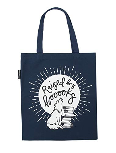 Out of Print Raised by Books Tote Bag