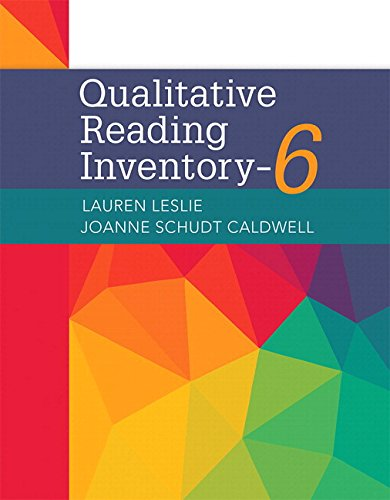 Qualitative Reading Inventory-6, with Enhanced Pearson eText -- Access Card Package (6th Edition) (What's New in Literacy) by Pearson