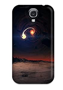 Premium Protection Black Hole Scene Case Cover For Galaxy S4- Retail Packaging