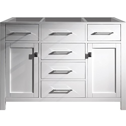 Virtu Usa Ms 2048 Cab Wh Caroline 48  Single Bathroom Vanity Cabinet  White